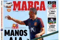 Las portadas de la prensa deportiva del sábado