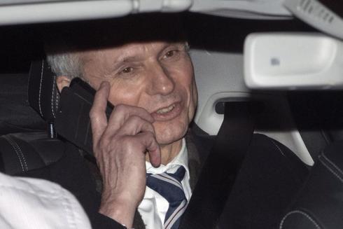 El Ministro británico de la Oficina del Gabinete y Canciller del Ducado de Lancaster, David Lidington, abandona el Parlamento de Londres, el pasado enero.