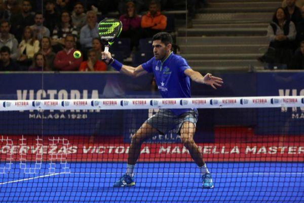 Maxi Sánchez, durante el torneo de Marbella.