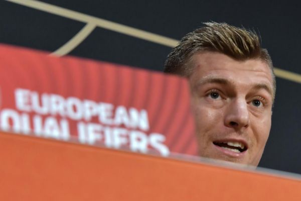 Toni Kroos, en rueda de prensa