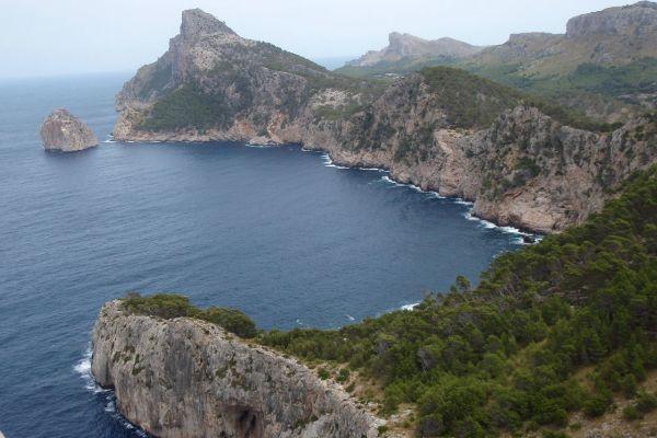 El cabo de Formentor.