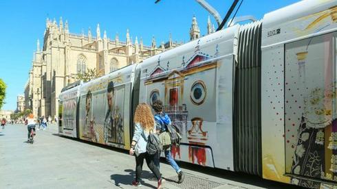 El Metrocentro de Sevilla promociona la Feria de Abril