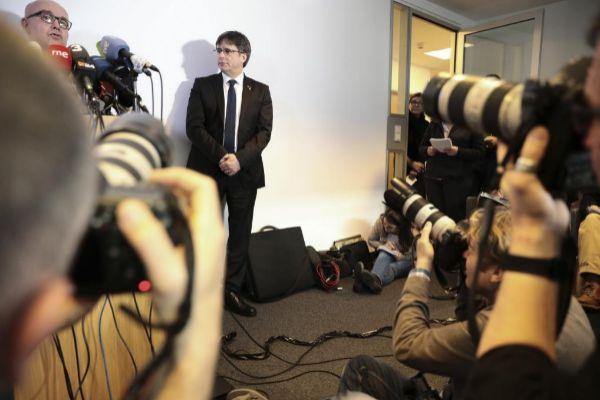 Carles Puigdemont en una imagen del pasado febrero en Berlín