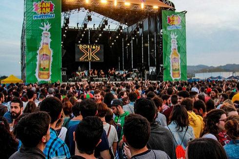Una de las últimas ediciones del SanSan Festival de Benicàssim.
