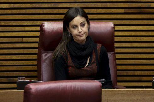 Elisa Díaz Alperi, en las Cortes Valencianas, en una imagen de archivo.