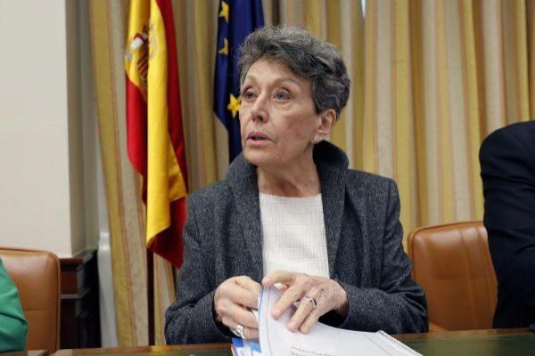 La administradora única provisional de RTVE, Rosa María Mateo