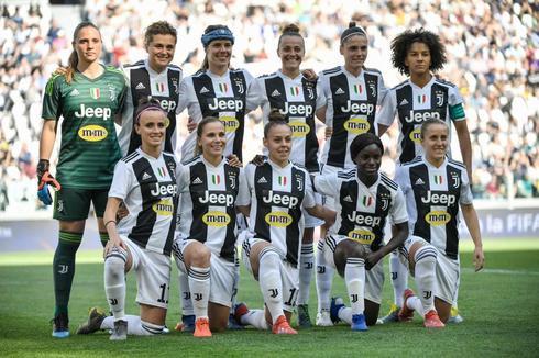 El once titular de la Juventus durante el partido ante la Fiorentina.