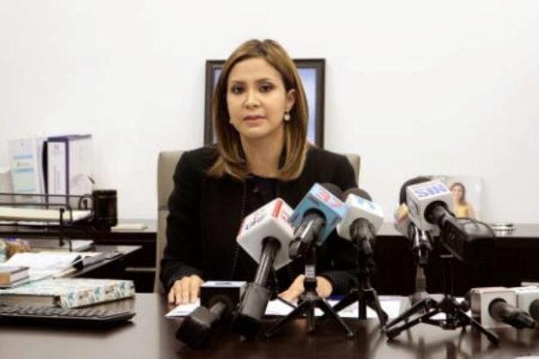 La fiscal titular del Distrito Nacional, Rosalba Ramos.