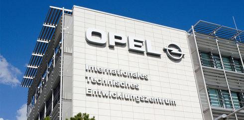 Imagen de una de las instalaciones de Opel en Rüsselsheim, Alemania.