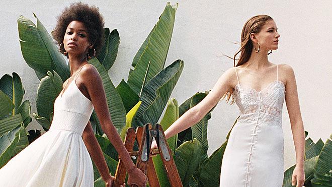 Los dos vestidos prometen agostarse los próximos días.