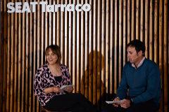 El regatista olímpico Diego Fructuoso y la chef María San Román protagonizan las Tardes Tarraco en Valencia