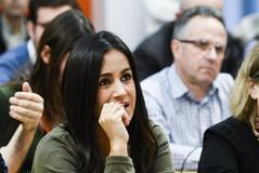 La candidata de Cs a la Alcaldía de Madrid, Begoña Villacís