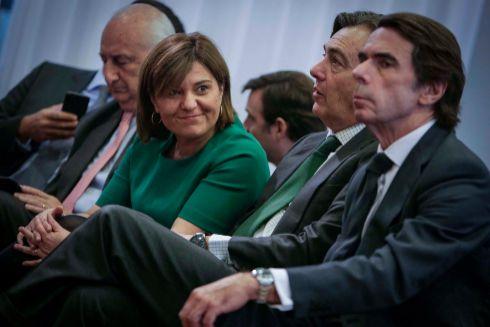Bonig, junto a Aznar el pasado mes de noviembre en el III Foro IDEAS FAES en Valencia.