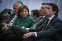 Aznar, de campaña el miércoles en Valencia con Isabel Bonig