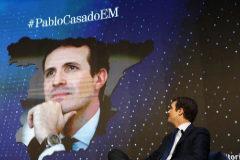 Pablo Casado, durante su intervención en el foro de EL MUNDO.