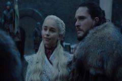 Daenerys Targaryen (Emilia Clarke) y Jon Nieve (Kit Harington) en la última temporada de Juego de Tronos