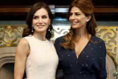 La Reina Letizia y Juliana Awada - Visita de Estado a Argentina