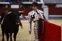 El torero Miguel Abellán, en la pasada feria de San Isidro