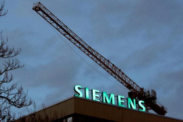 Un edificio de la empresa alemana Siemens.