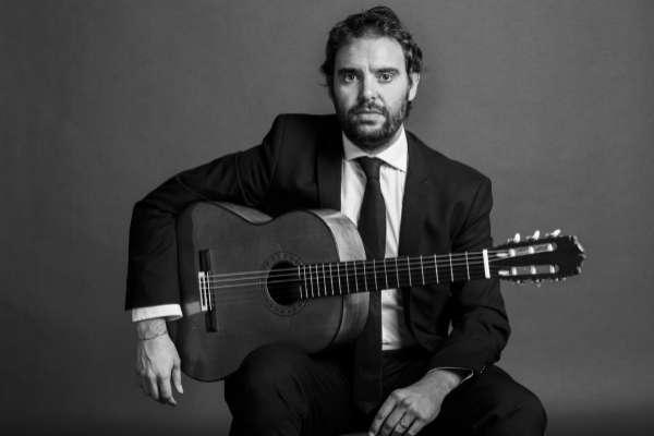 El guitarrista flamenco Diego de Morón.