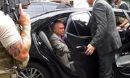 Michel Temer, al ser detenido por el 'caso Lava Jato'.