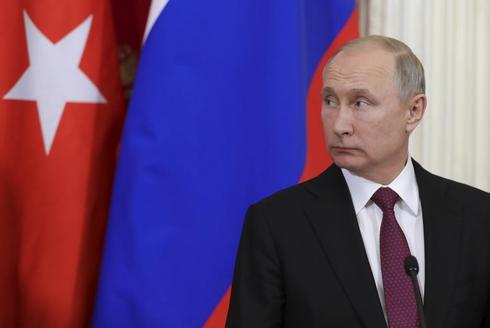 Russian President Vladimir <HIT>Putin</HIT> attends a joint news conference with Turkish President Recep Tayyip Erdogan (not pictured) after their meeting at the Kremlin in Moscow, Russia January 23, 2019. Sputnik/Mikhail Klimentyev/Kremlin via REUTERS ATTENTION EDITORS - THIS IMAGE WAS PROVIDED BY A THIRD PARTY. - RC1F27FB8CD0