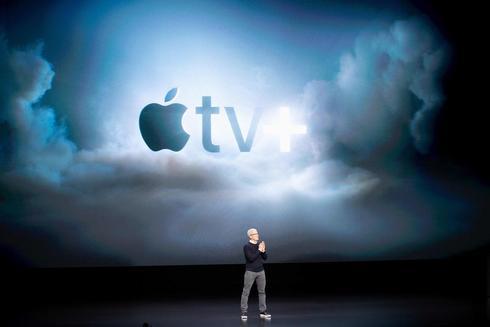Tim Cook, el CEO de la compañía, durante la presentación de Apple
