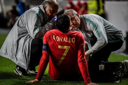 Tiembla la Juventus: lesión de  Cristiano frente a Serbia