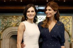 Letizia y Juliana Awada en su primer encuentro en Buenos Aires