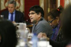 El portavoz de Guanyar y ex concejal de Urbanismo que negoció el convenio de 2017, Miguel Ángel Pavón.