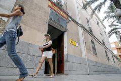 La Comandancia de la Guardia Civil de Alicante.