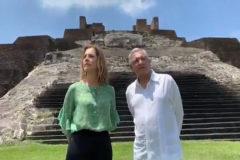 El presidente de México pide  al Rey que  España  se disculpe por la conquista