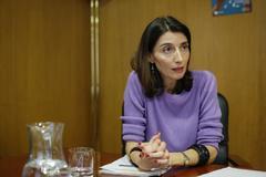 Pilar Llop, delegada de Gobierno para la violencia de género.