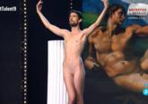 La actuación en Got Talent de Adrián Pino Olivera, que se desnudó...