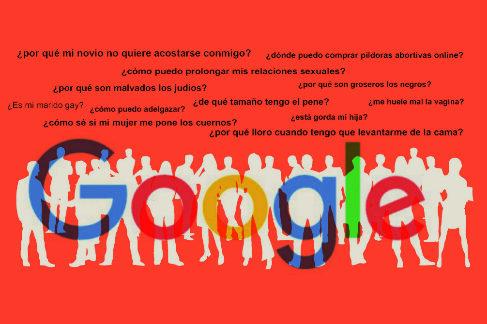 Por qué Google sabe cuánto te mide el pene o si tu marido es gay