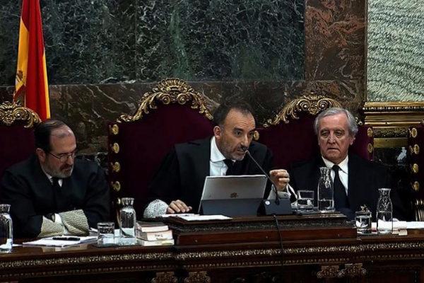 Manuel Marchena, presidente del tribunal que juzga el 1-O, en una sesión.
