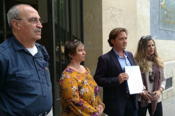 Antonio Salvá, padre de un Guardia Civil asesinado por ETA, candidato de VOX