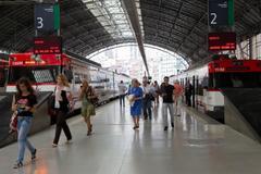 Estación de Abando, en Bilbao.