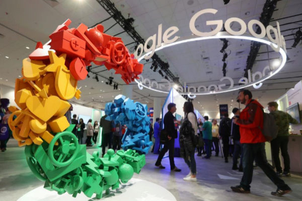 Muestra de Google en San Francisco (California).