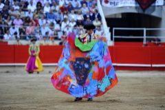 El torero Serafín Marín, 'número tres' de la lista de Vox por Barcelona, en la última corrida antes de la prohibición de los toros en Cataluña.