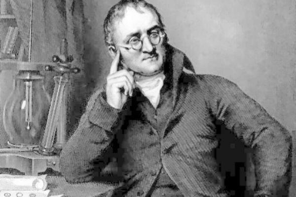 El químico John Dalton.