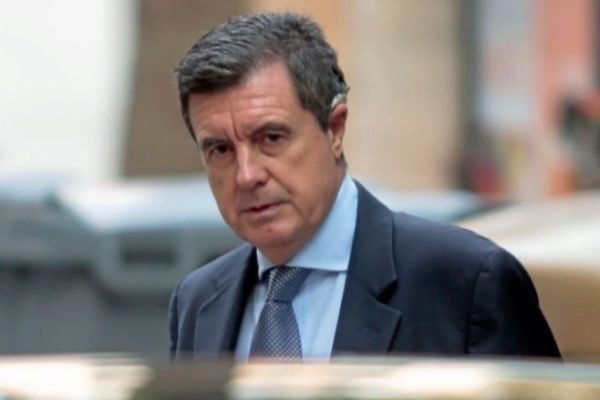 Jaume Matas llegando a una de sus declaraciones judiciales.