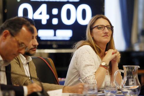 La portavoz del equipo de Gobierno y edil de Urbanismo, Mari Carmen de España.
