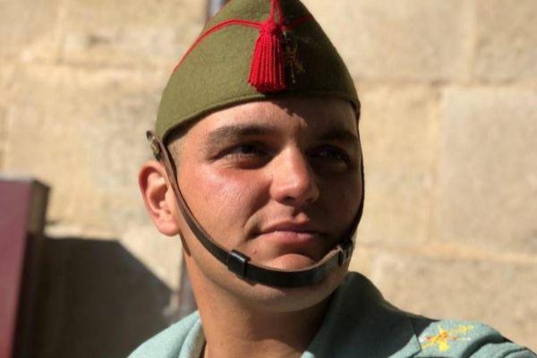 Alejandro Jiménez Cruz en la Legión.