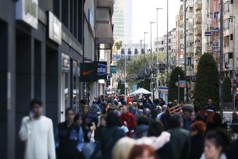 Maisonnave, una de las avenidas más comerciales de la ciudad.