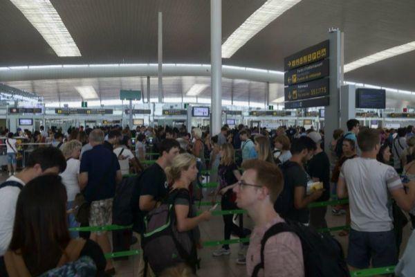 Termintal 1 del aeropuerto de El Prat.