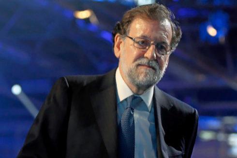 El ex presidente del Gobierno, Mariano Rajoy, en la convención del PP