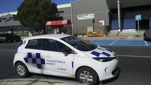 Un coche con el logo del Ayuntamiento fue visto en Villalba.