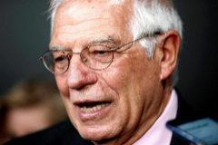 El ministro de Exteriores, Josep Borrell, durante su visita a Argentina