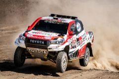 El primer paso de Alonso para su aventura en el Rally Dakar